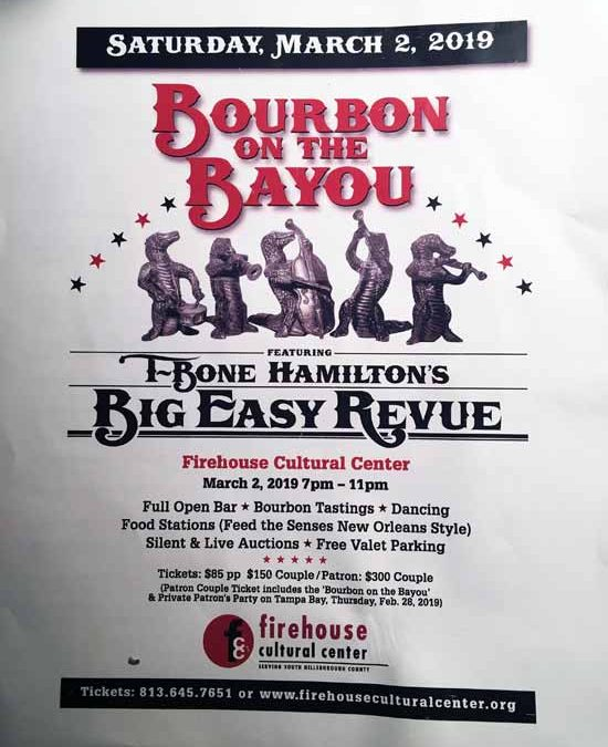 TBone Hamilton's Big Easy Revue – Firehouse March 2nd 2019