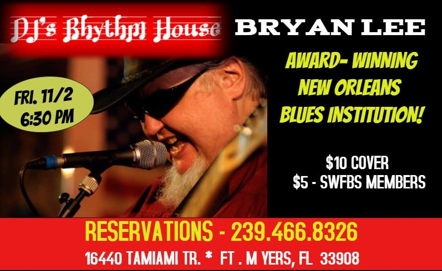 DJ'S Rhythm House W Bryan Lee & Six String Therapy