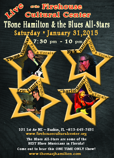 TBone Hamilton & the Blues All Stars in Concert