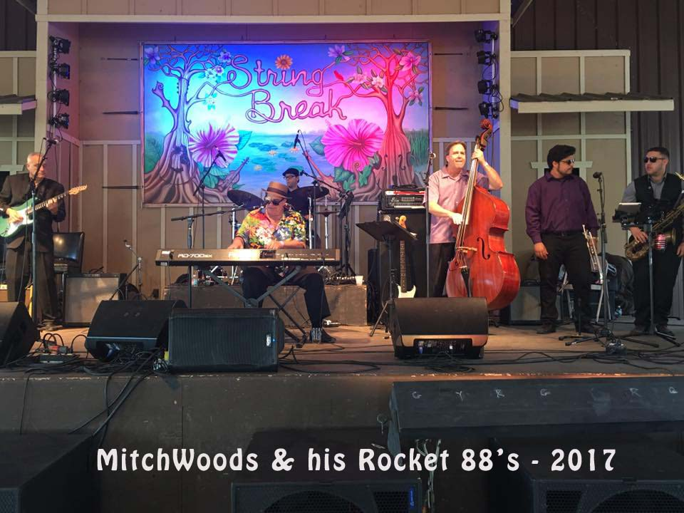 Mitch Woods & his Rocket 88's – Firehouse Saturday Nov 10th 2018