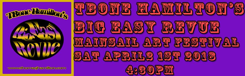 TBone's Big Easy Revue @ The Mainsail Art Festival