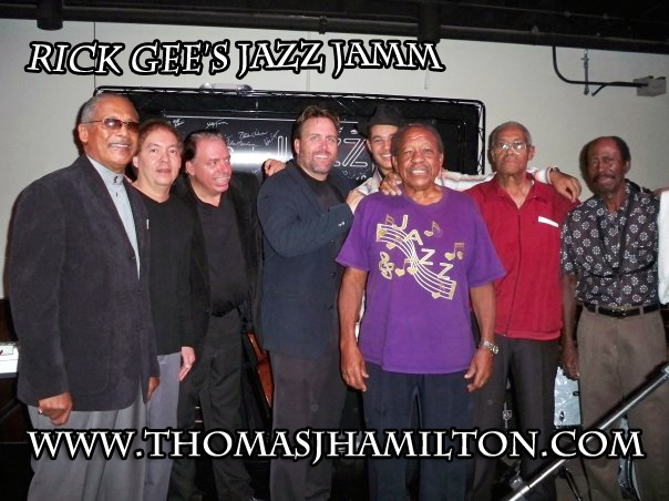 TBone Throwback – Rick Gee's Jazz Jam – The Manhattan Casino Before & After